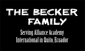 The Becker Family - Quito, Ecuador